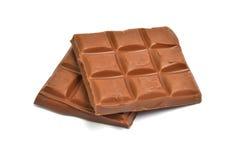巧克力片剂 库存图片