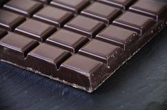 巧克力片剂  免版税库存图片