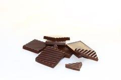巧克力片 免版税库存图片