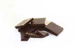 巧克力片 图库摄影