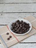 巧克力片 免版税图库摄影