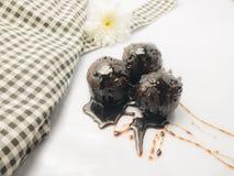 巧克力球 免版税库存图片
