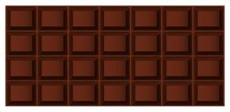 巧克力瓦片  免版税库存图片
