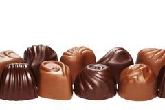 巧克力甜点。 免版税库存照片