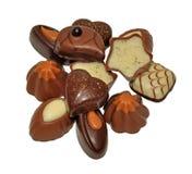 巧克力的选择 库存图片