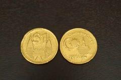 巧克力硬币 免版税库存图片
