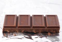 巧克力箔 库存照片