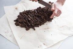 巧克力糖制造业  图库摄影