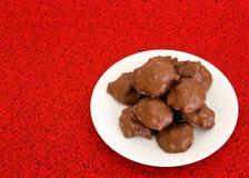 巧克力糖牌照  图库摄影