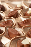 巧克力糖配件箱 库存图片