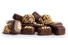 巧克力糖,甜 免版税库存图片