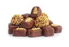 巧克力糖,甜 图库摄影