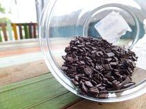 巧克力糖洒 免版税库存图片