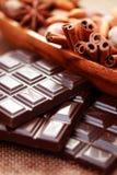 巧克力纤巧 免版税库存照片