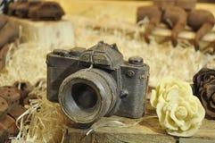 巧克力纪念品,荷兰, 2013年12月 免版税图库摄影