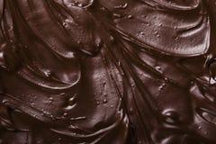 巧克力纹理 免版税库存图片