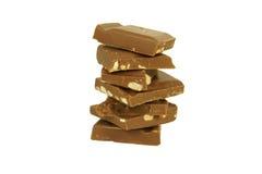 巧克力细分市场 免版税库存图片