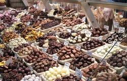 巧克力美食 免版税库存照片