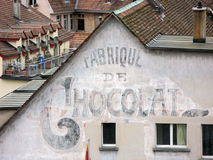 巧克力老工厂 免版税库存图片