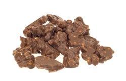 巧克力花生 库存照片