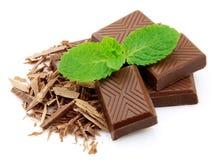巧克力薄菏 免版税库存图片