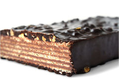 巧克力薄酥饼 免版税库存图片