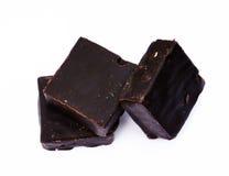 巧克力蛋白牛奶酥 免版税库存图片