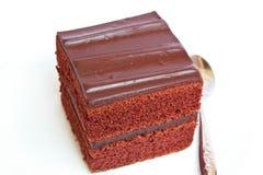 巧克力蛋糕。 图库摄影