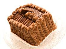 巧克力蛋糕奶油蛋糕 库存照片