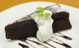 巧克力蛋糕点心 免版税图库摄影