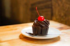 巧克力蛋糕面包店 库存照片