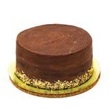 巧克力蛋糕洒与面包屑 库存照片