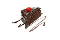 巧克力蛋糕 库存图片