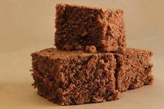 巧克力蛋糕 免版税库存图片
