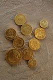 巧克力货币 图库摄影