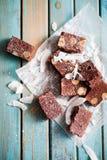 巧克力软糖 库存照片