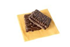 巧克力酥皮点心 免版税图库摄影