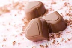 巧克力重点 免版税库存照片
