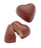 巧克力重点 库存图片