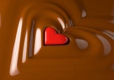 巧克力重点 皇族释放例证