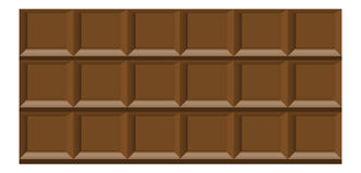 巧克力铺磁砖背景 库存图片