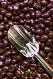 巧克力长凳 库存照片