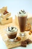 巧克力饮料 免版税库存图片