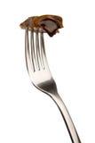 巧克力饮食食物 免版税库存照片
