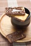 巧克力饼干 免版税图库摄影