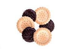 巧克力饼干 库存图片