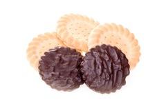 巧克力饼干 图库摄影