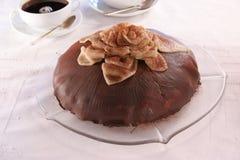 巧克力饼 免版税库存图片