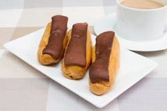 巧克力饼 库存图片