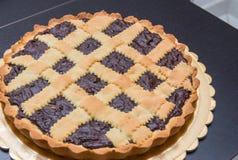 巧克力饼- Torta coi bischeri,托斯卡纳 图库摄影